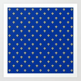 Royal Blue Art Print