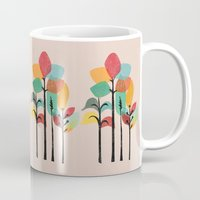 tropical Mugs featuring Tropical Groove by Picomodi