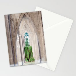 Cathedral Park Portland Stationery Cards