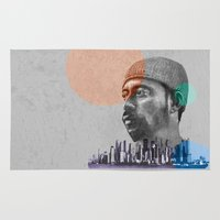 hiphop Area & Throw Rugs featuring Madlib - urban by ARTito