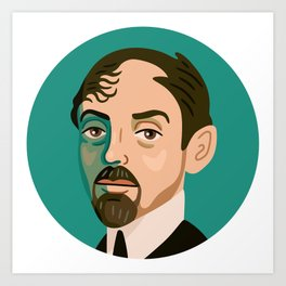 Queer Portrait - Mikhail Kuzmin Art Print