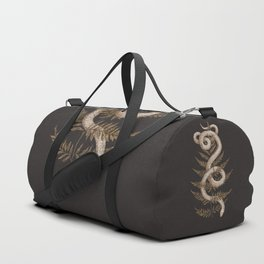 The Snake and Fern Duffle Bag