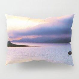 Evening view over Loch Lhinne Pillow Sham