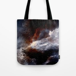 Dust, hydrogen, helium and other ionized gases Tote Bag