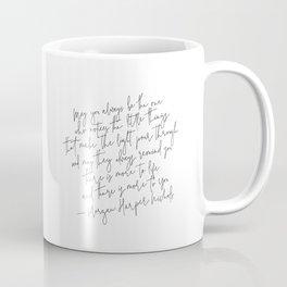 Morgan Harper Nichols Quote Poster Print  Typography Quote Print Positive Quote Coffee Mug