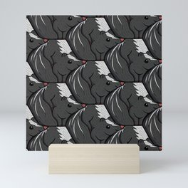 Skunks Mini Art Print