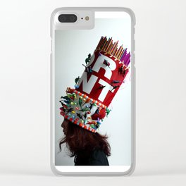 Art For Rent Clear iPhone Case