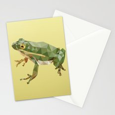 Geometric Frog Stationery Cards