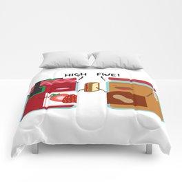 PB & J - High Five Comforters