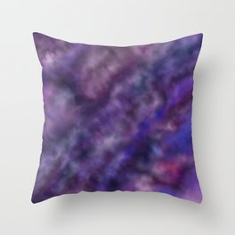 Amethyst Sky Throw Pillow