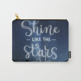 Shine like the Stars Carry-All Pouch