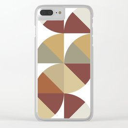 Brown Pies Clear iPhone Case