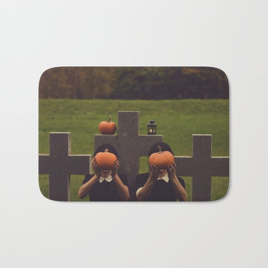halloween graves Bath Mat