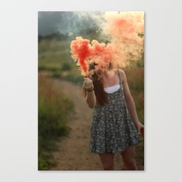 Smoked.  Canvas Print