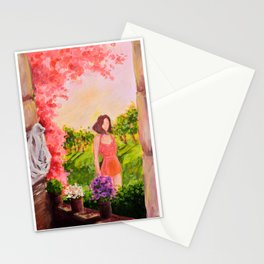 Summer Atmosphere Stationery Cards