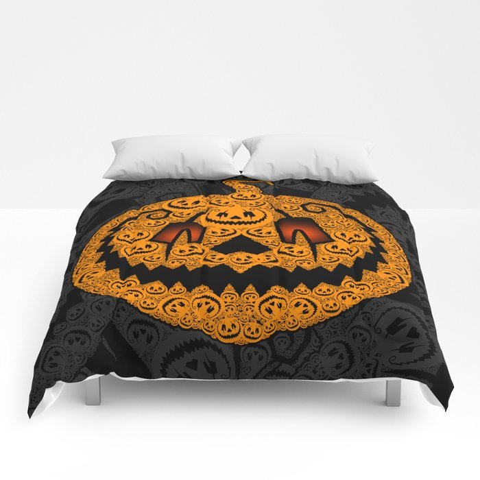 Jack of 1,000 Faces Comforters
