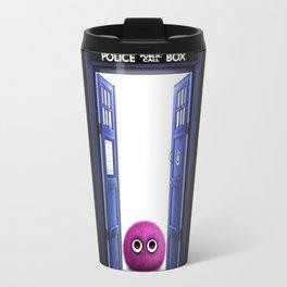 Tardis And Cute Monster Travel Mug