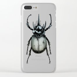 Chalcosoma Clear iPhone Case