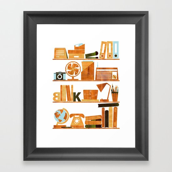 Office Framed Art Print