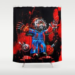 Freddy Of All Faces Shower Curtain