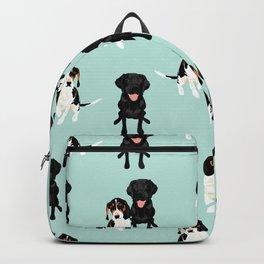 Jasper and Bella Pattern Backpack