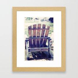 river inn Framed Art Print