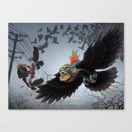 Crowanha Canvas Print