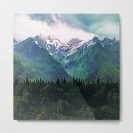 Escaping from woodland heights III Metal Print
