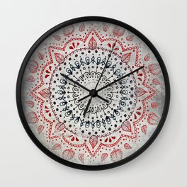 Granite Mandala Wall Clock