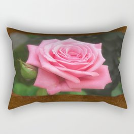 Pink Roses in Anzures 4 Blank P3F0 Rectangular Pillow