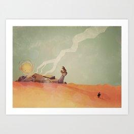 This Desert Is A Wasteland Art Print