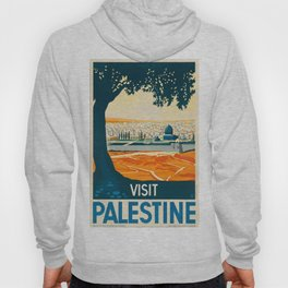 Vintage poster - Palestine Hoody