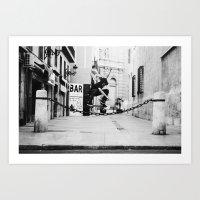 skate Art Prints featuring Skate by Rbnisonfire