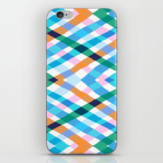The rustic link based on tenun ikat iPhone & iPod Skin