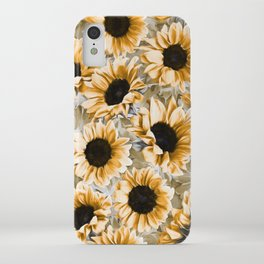 Dreamy Autumn Sunflowers iPhone Case