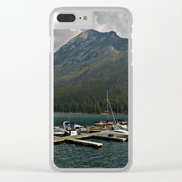 Boat Slips Clear iPhone Case