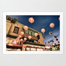 Chinatown_2011052102 Art Print