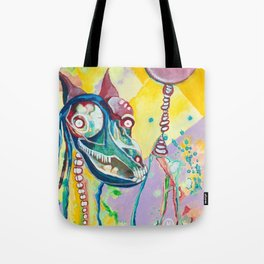 Walking My Dream Horse Tote Bag