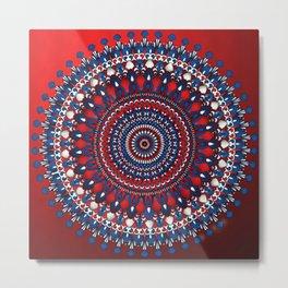 Tanya Mandala Metal Print