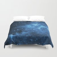 galaxy Duvet Covers featuring Galaxy by Space99
