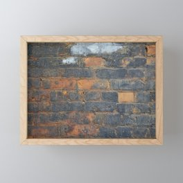 Burned Brick Framed Mini Art Print