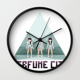Perfume City by Starpuke Wall Clock