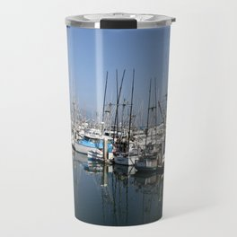 Harbor At Half Moon Bay Travel Mug