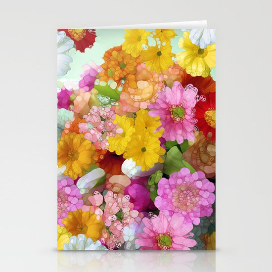 May the Flowers Be With You Stationery Cards