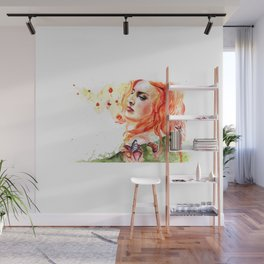 Clementine Wall Mural