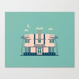 Century Hotel Canvas Print