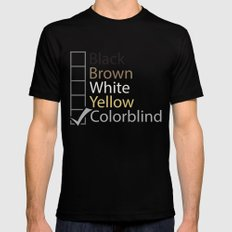 Colorblind Black Mens Fitted Tee MEDIUM