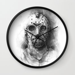 The Horror of Crystal Lake Wall Clock