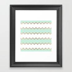 AVALON SEAGREEN Framed Art Print