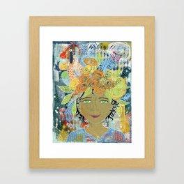 Carmella Framed Art Print